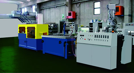 PVC / PP / PE / PS / ABS / PMMA precision profile extrusion line