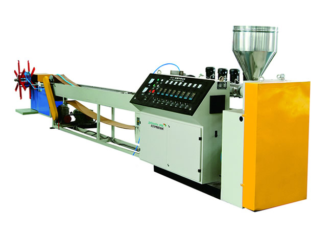 PVC / TPE / TPV sealing strip extrusion line
