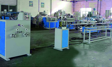 PP / PE / PVC plastic electrode extrusion production line